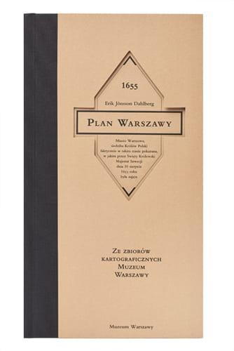 1655 Plan Warszawy zestaw (E.J.Dahlberg)