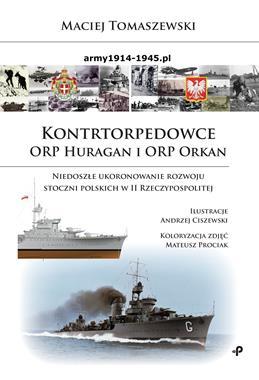 Kontrtorpedowce ORP Huragan i ORP Orkan (M.Tomaszewski)