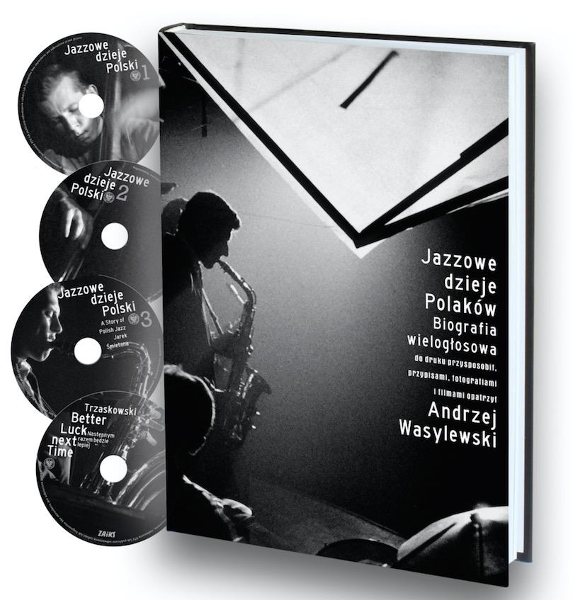 Jazzowe dzieje Polaków Biografia wielogłosowa + DVD x 4 (A.Wasylewski)