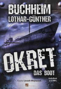 Okręt Das Boot CD mp3 x 2 (L.-G.Buchheim)