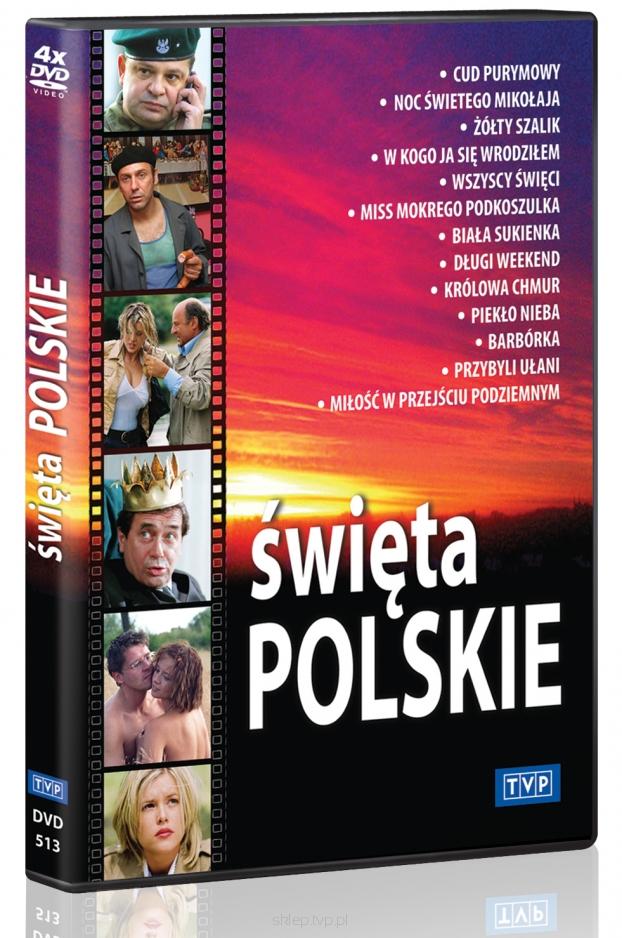 Święta Polskie Cykl filmowy DVDx4 (opr.zbiorowe)