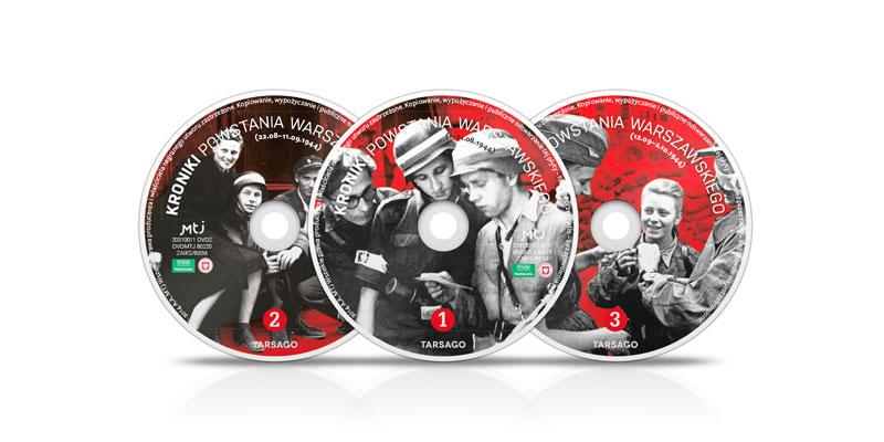Kroniki Powstania Warszawskiego DVD x 3 (opr.zbiorowe)