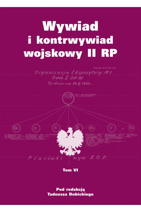 Wywiad i kontrwywiad wojskowy II RP T.6 (red.T.Dubicki)